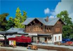 Faller 212108 N Scale Schwarzbach Station with Annexed Goods Shed